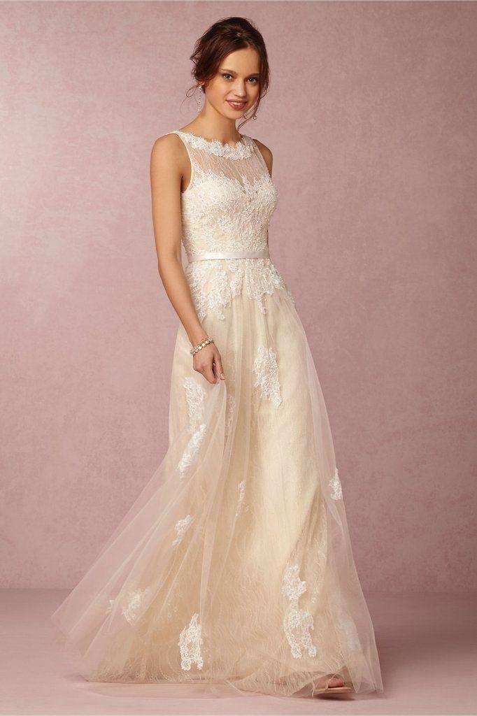 BHLDN \'Georgia\' size 10 new wedding dress - Nearly Newlywed ...