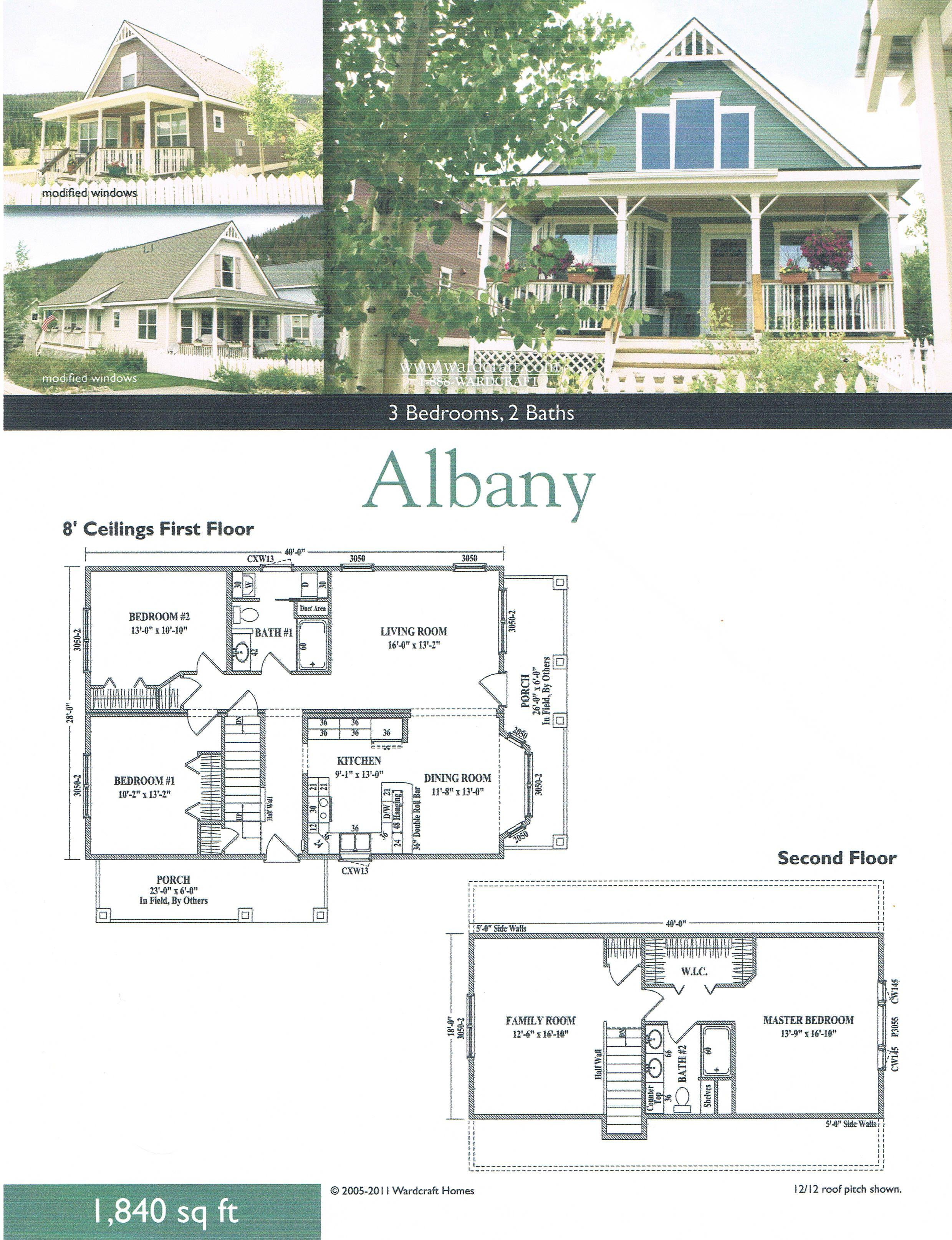 Wardcraft Homes - Albany Plan  http://www.wardcraft.com/Floor-Plans/albany.pdf