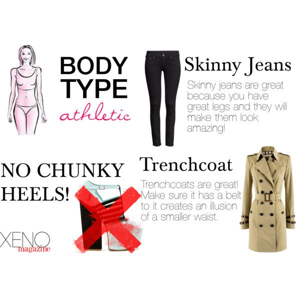 Dressing For Your Body Type Athletic By Delightoftheyoung On Polyvore