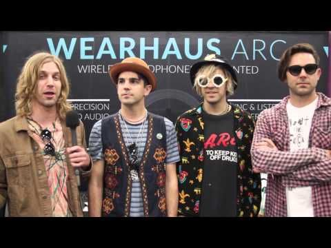 SoCal boys New Beat Fund know how to make fun music and have a great time. The band came by out SXSW booth to check out the Arc and chat about everything fro...