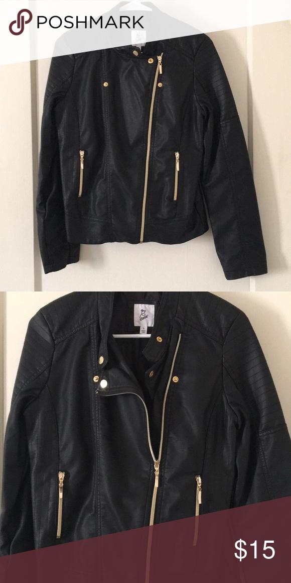 Art Class By Target Faux Leather Jacket My Posh Picks Pinterest