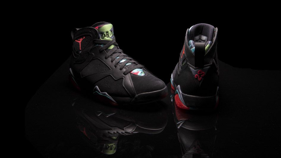 "the latest ce27f 7d2d3 Air Jordan VII Retro ""Barcelona Nights"" Another Look   Air 23"