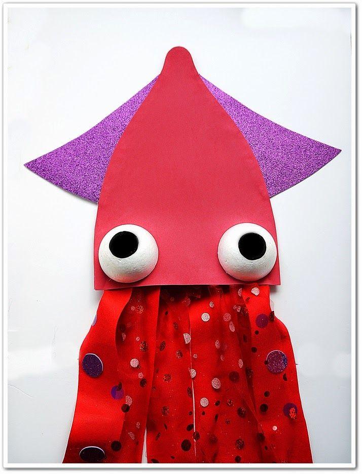 e9d56ab04 Manga por Hombro: Disfraz de calamar   Disfrases   Disfraces bajo el ...