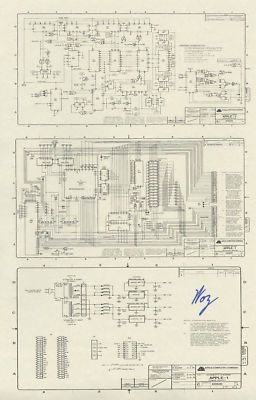 details about steve wozniak signed 11x14 rare photo apple. Black Bedroom Furniture Sets. Home Design Ideas