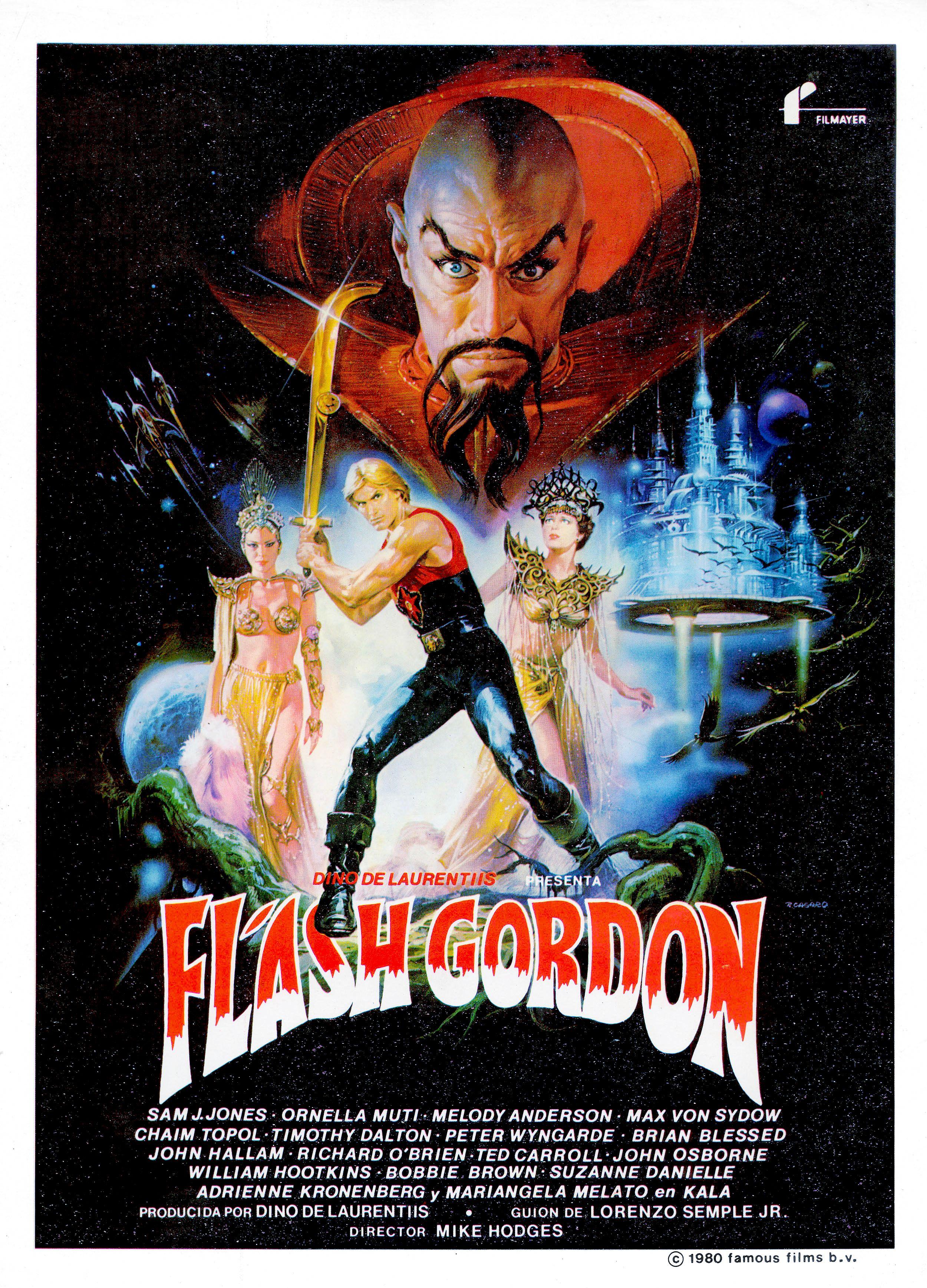 Flash Gordon Restoration Performed By Darren Harrison Mejores Carteles De Peliculas Peliculas De Terror Peliculas De Ciencia Ficcion