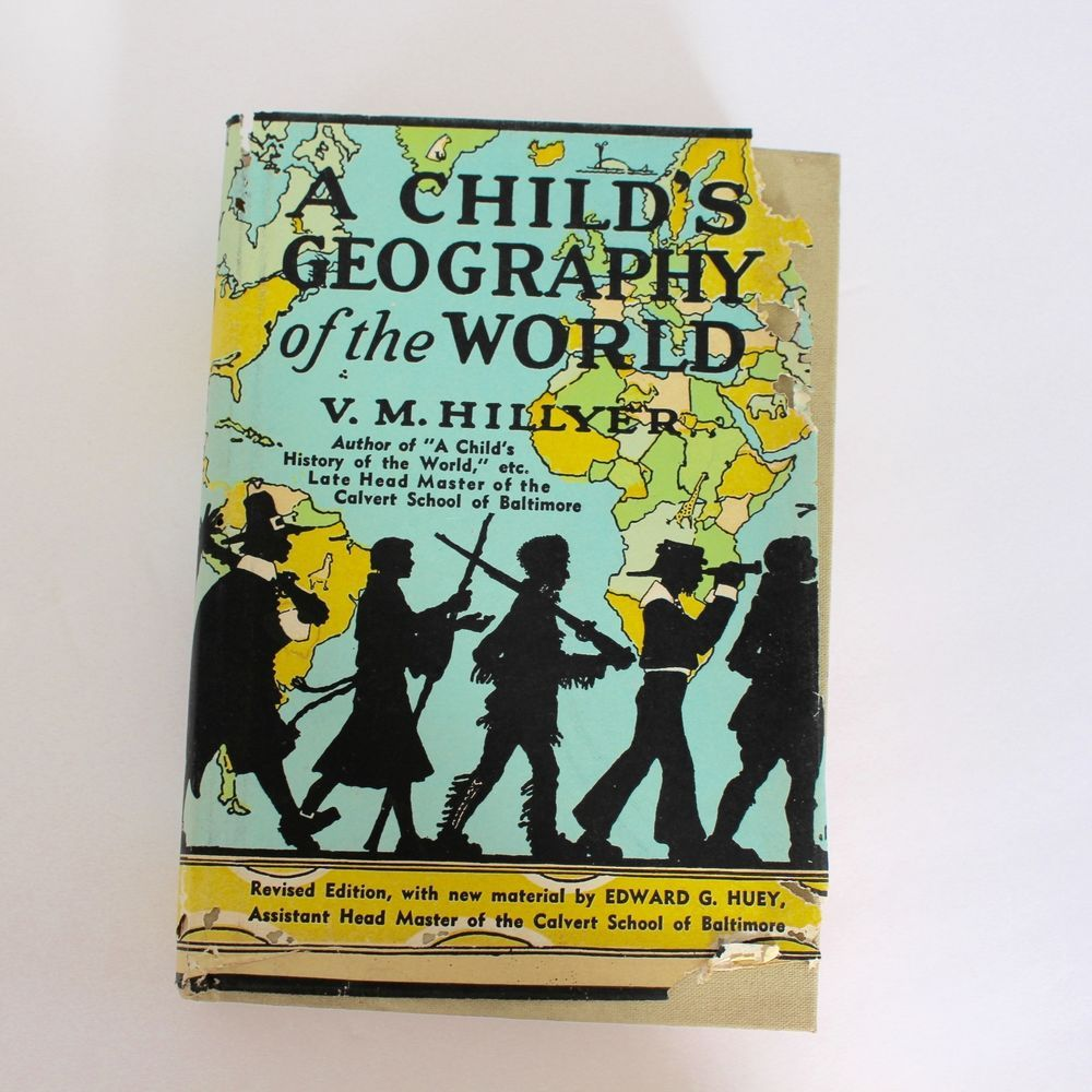 Details about A Child's Geography of the World, V. M