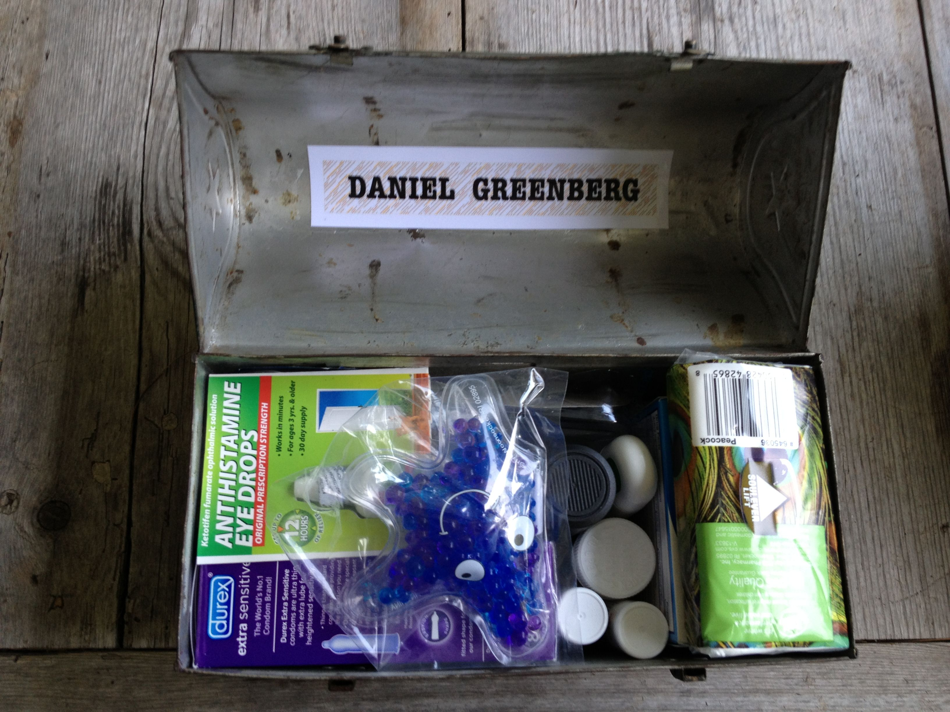 A First Aid Kit Created As A Graduation T For A High