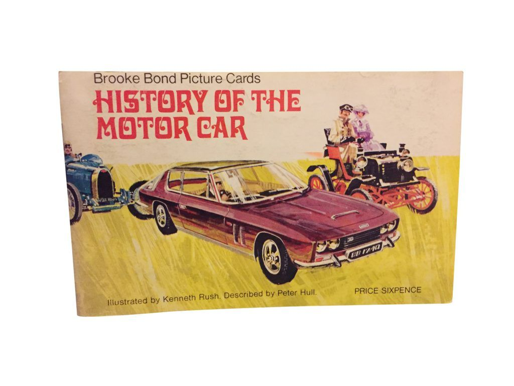 Retro 1968 Picture Card The History Of The Motor Car Picture Cards History Car Card [ 768 x 1024 Pixel ]
