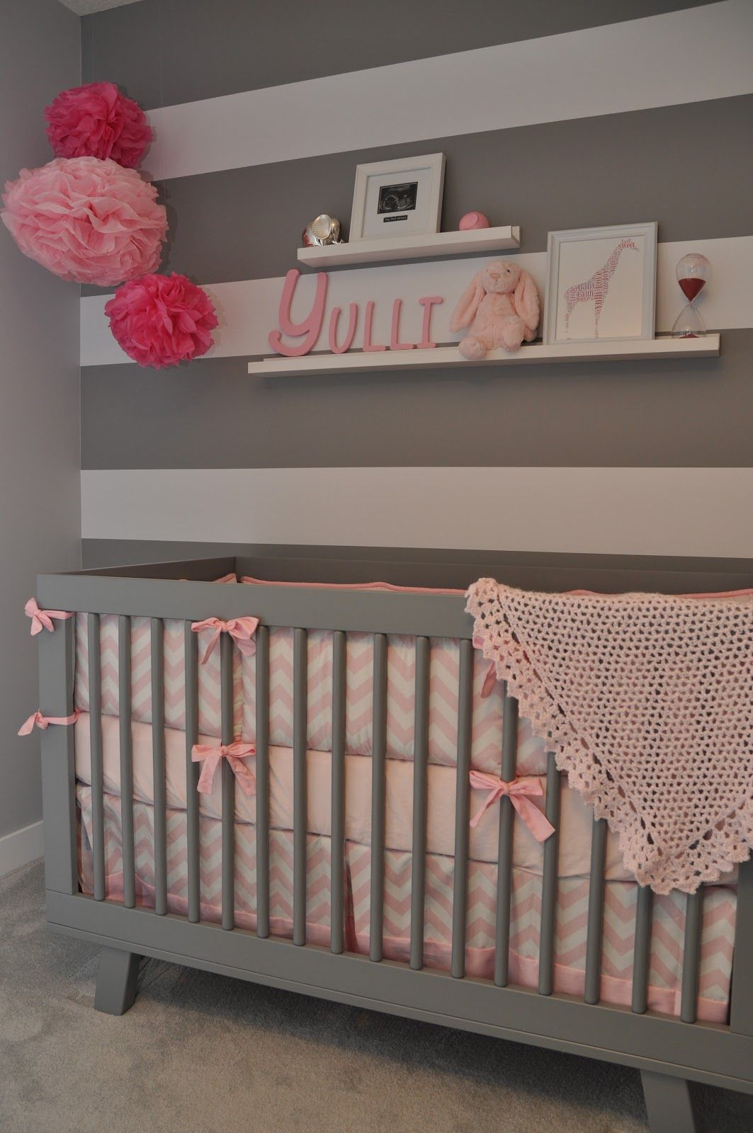 Love the grey and white wall things i love pinterest pink