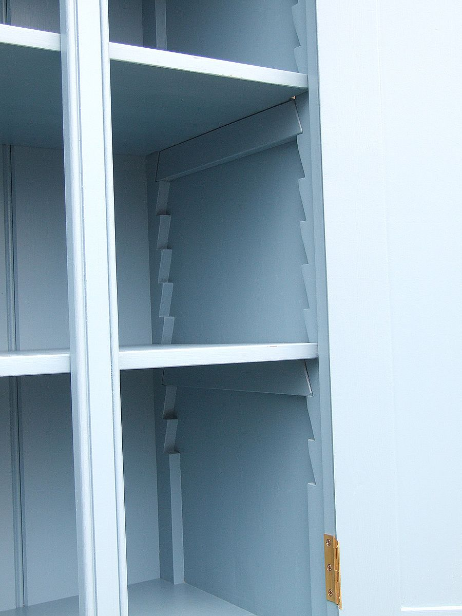 Painted Shaker Freestanding Larder Internal View | Good Cabinets ...