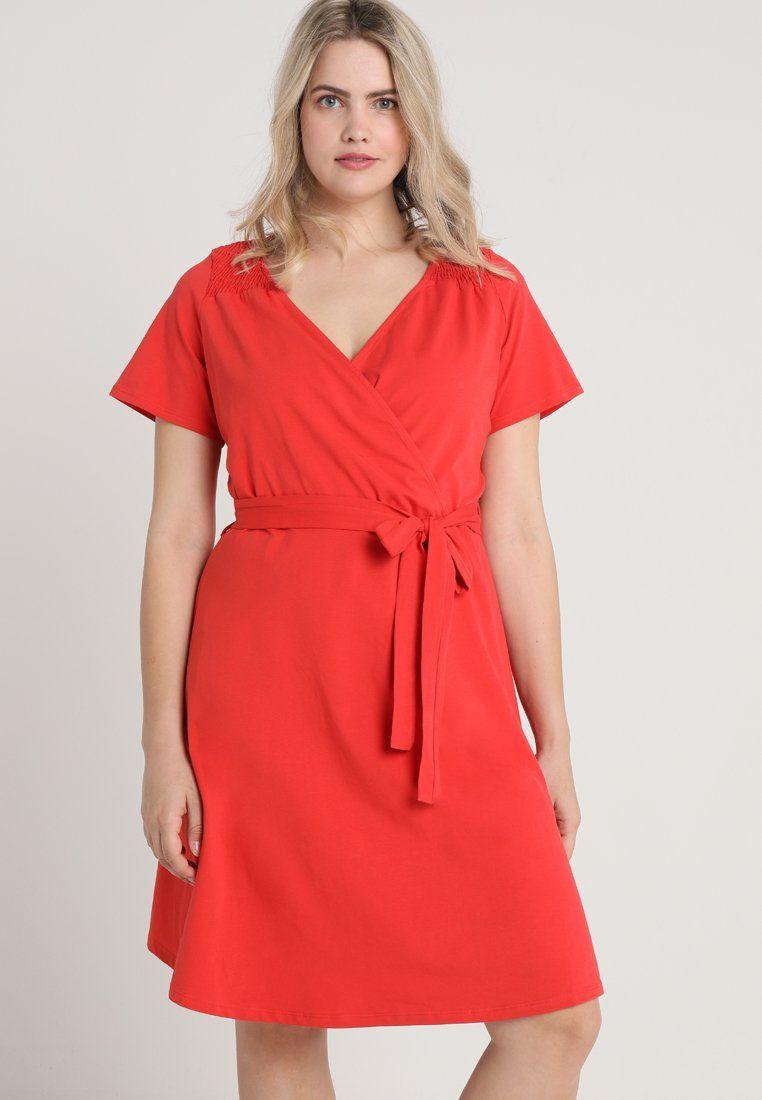 d1a72c2b WRAP MIDI - Jerseyjurk - red | my style of women fashion | Pinterest ...