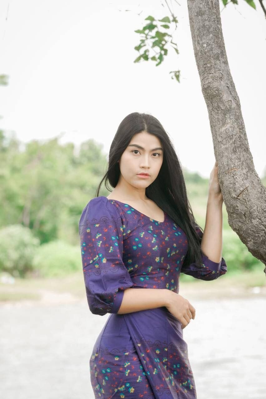 Pin on Ei Chaw Po - Popular Myanmar Actress with Her
