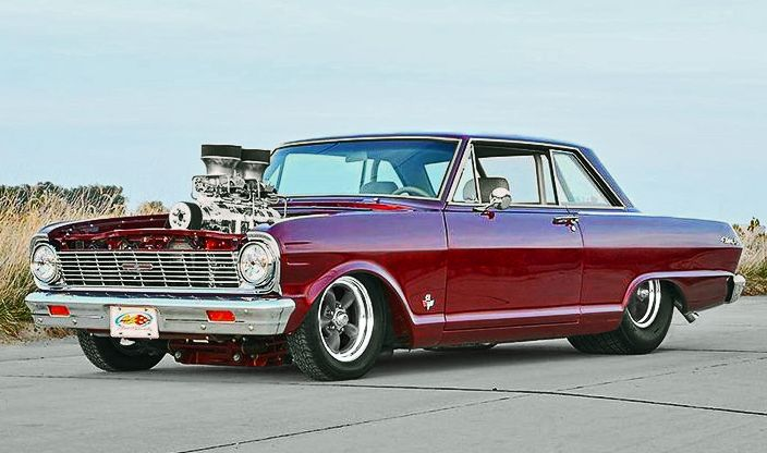 Blown Chevy Nova