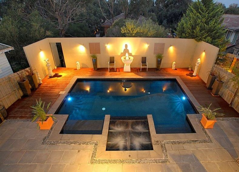 Pool Deck Lighting Google Search Geometric Pool Outdoor Pool