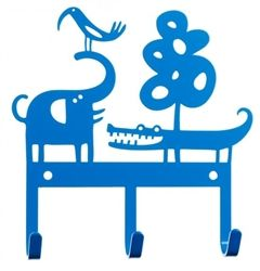 Safari Hanger in Blue by Bengt & Lotta would look perfect in any nursery