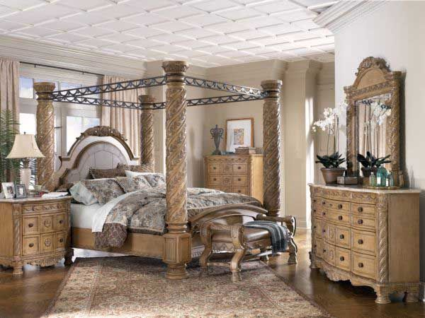 The Four Wooden Poster Bed With Metal Canopy Consumer Reviews Canopy Bedroom Sets Canopy