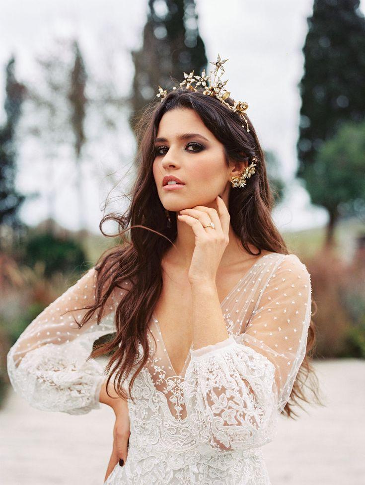 Celestial Bridal Crown
