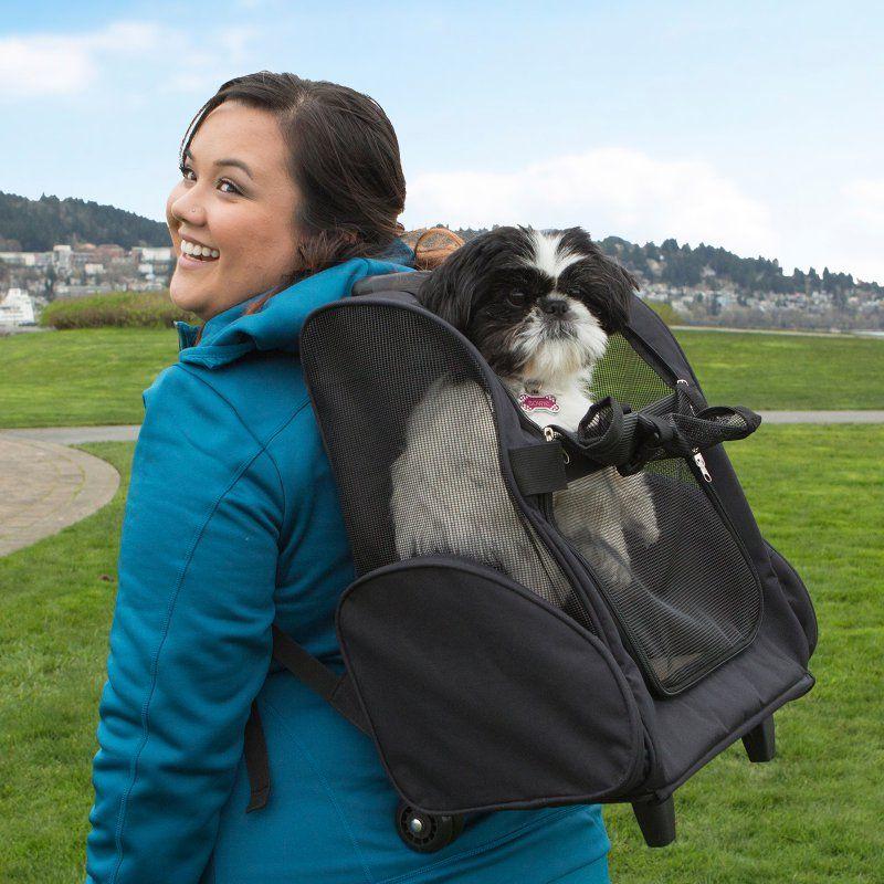 FurHaven Pet Backpack-Roller Carrier - 89243430