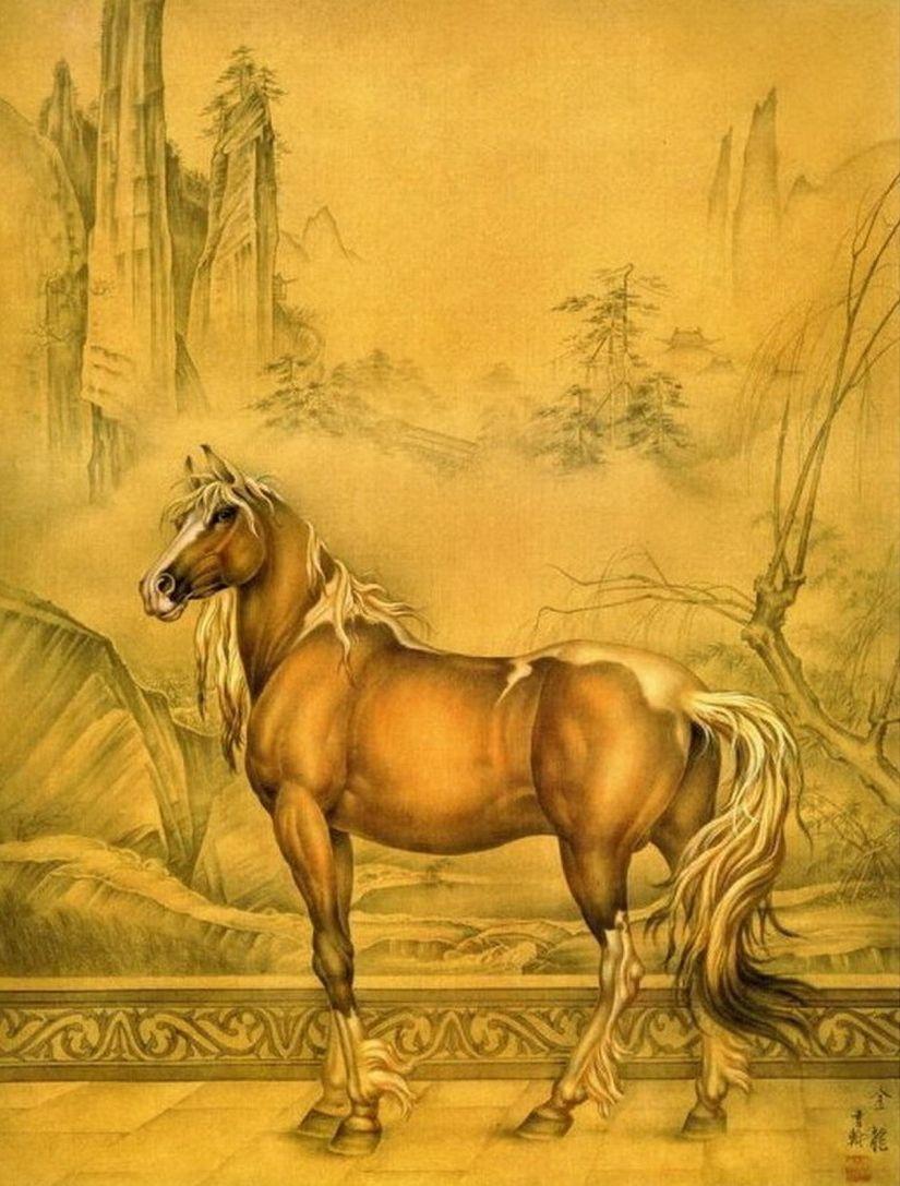 Декупажные картинки лошади