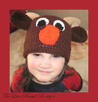 Reindeer Beanie Newborn to Adult ($4.99)