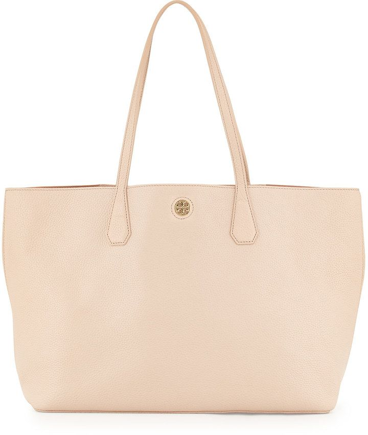 ef4d1c60356f Tory Burch Perry Leather Tote Bag