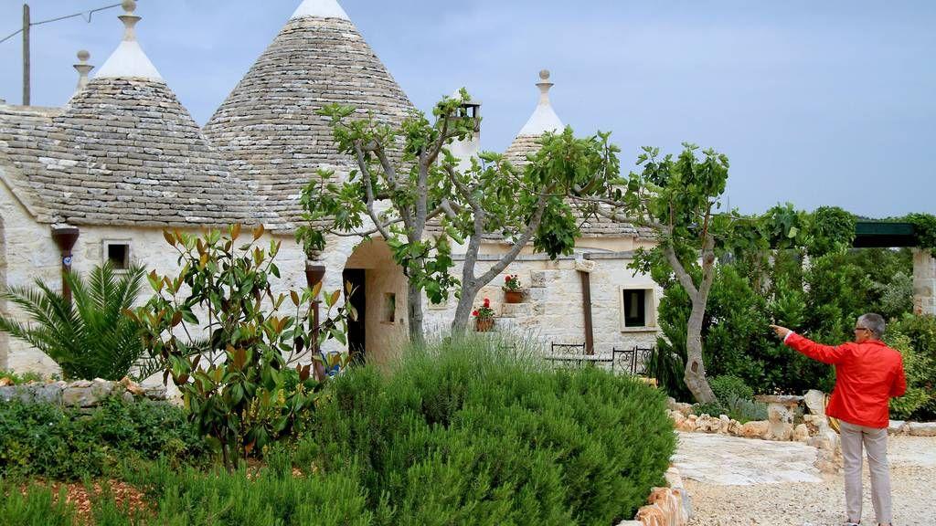 Huset er som en iglo av stein