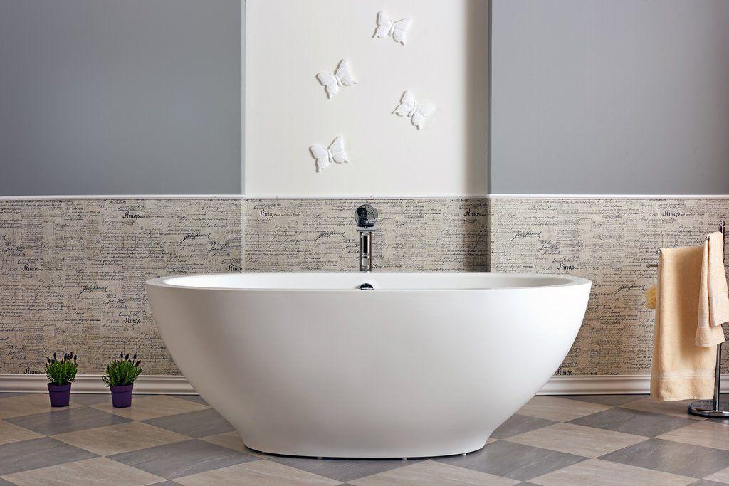Aquatica Karolina RELAX: Huge Freestanding Jetted Air Massage Tub ...