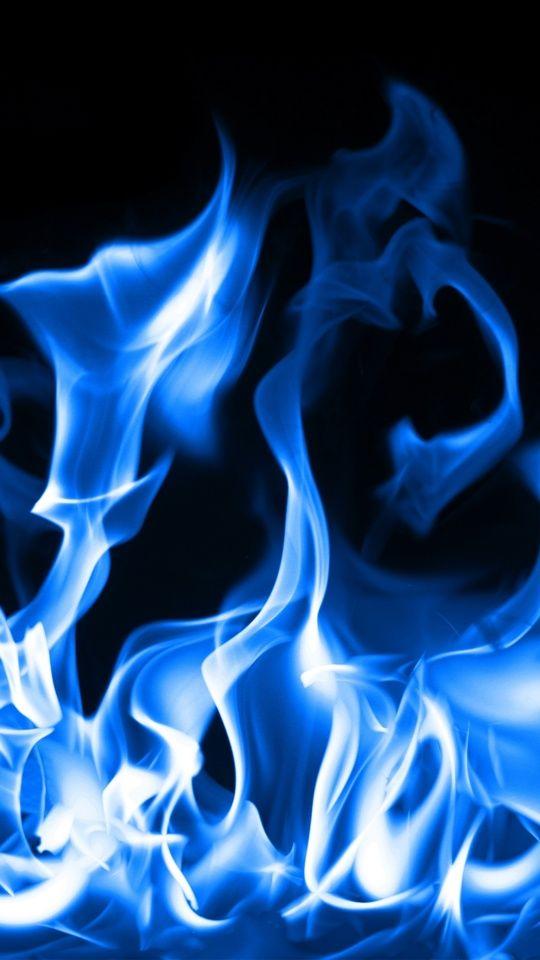 Blue Fire Blue Aesthetic Dark Blue Aesthetic Pastel Smoke Art