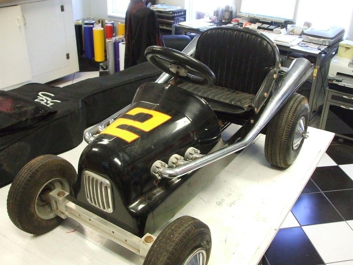 Antique Pedal Car Racer | Collectors Weekly | Pedal Cars | Pinterest ...