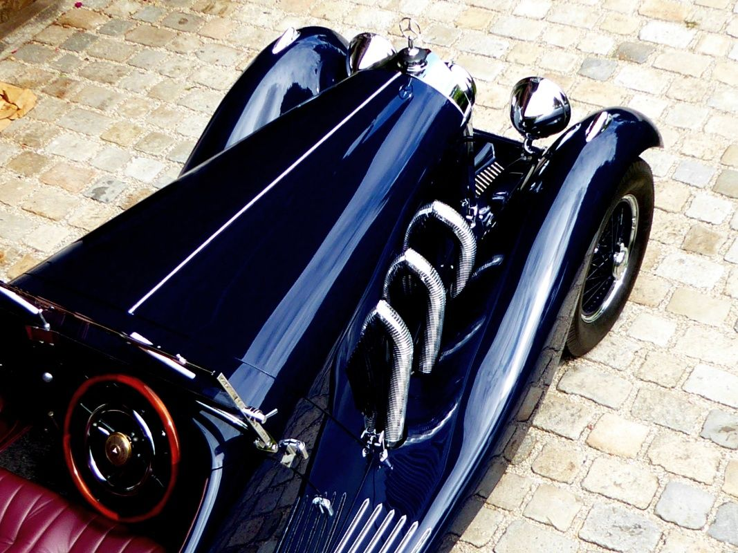 1929 Mercedes-Benz Typ S  - Mercedes 710 SS – Sports body