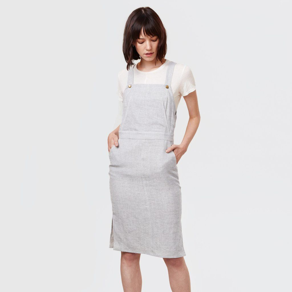 Pair this dress with an ultra thin tee for the ultimate stay-at-home chic look.