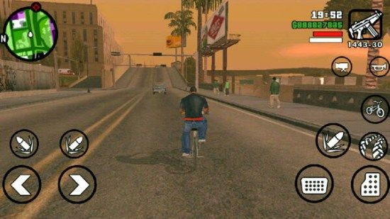GTA: San Andreas 1 08 Apk + Data Mod For Android | http