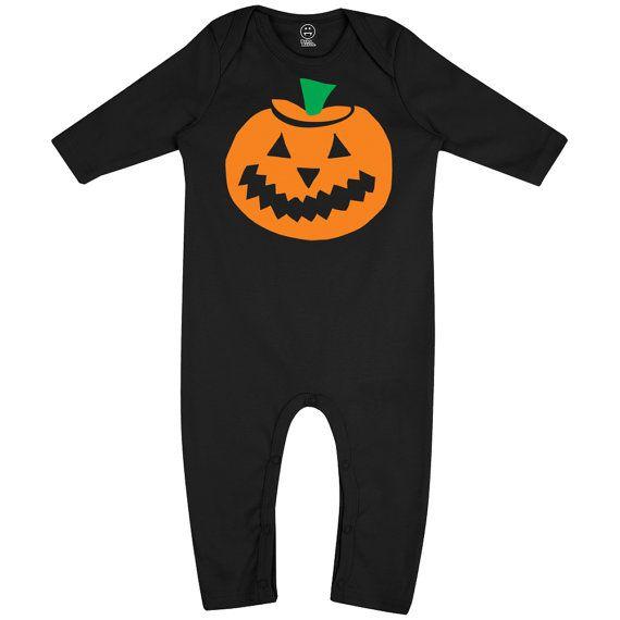 Halloween Giant Pumpkin Long Sleeve Unisex Fancy Dress by BatchOne Onesie