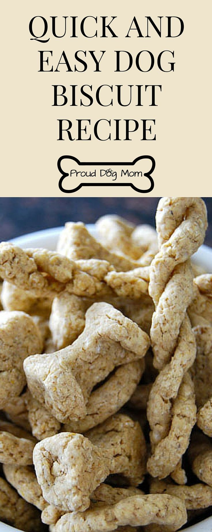 Quick And Easy Dog Biscuit Recipe Dog Biscuit Recipe Easy Dog