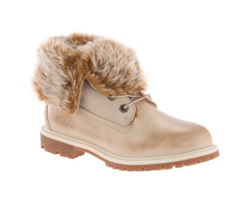 timberland high heels with fur for women