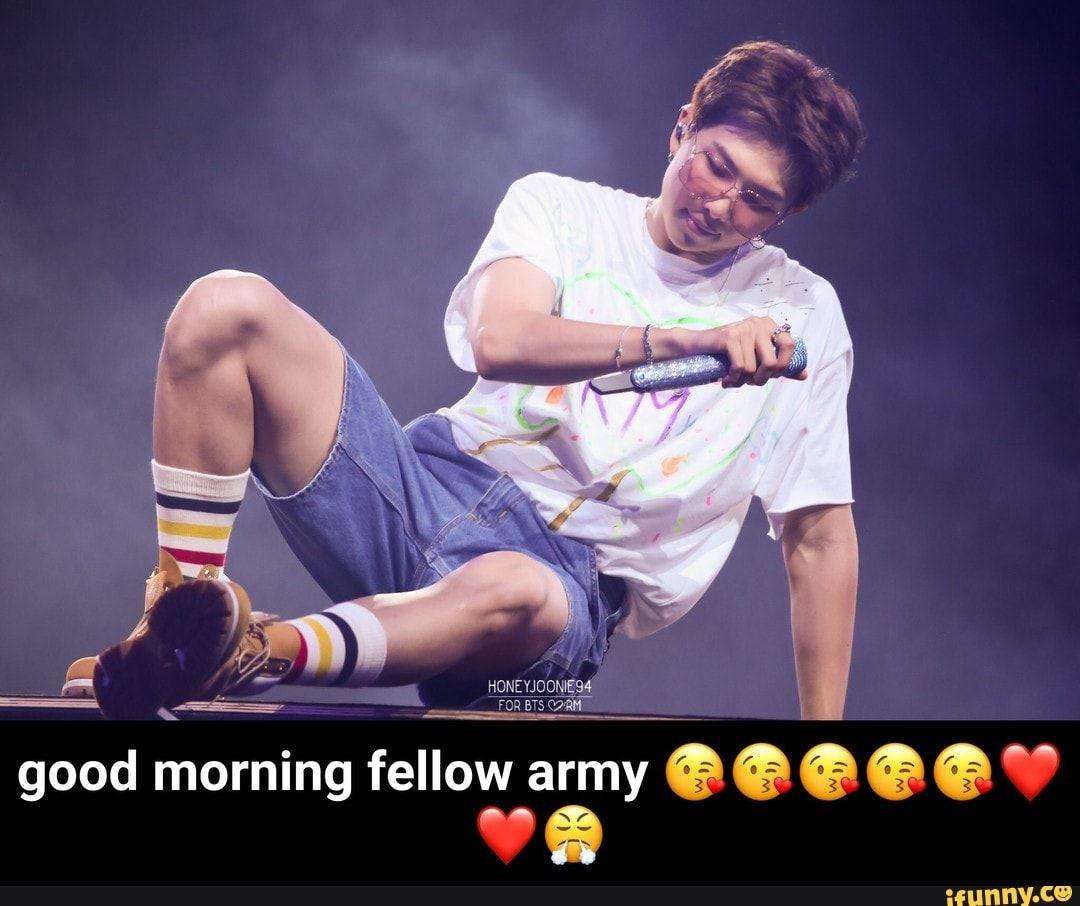 Good Morning Fellow Army Ifunny Good Morning Meme Memes Popular Memes