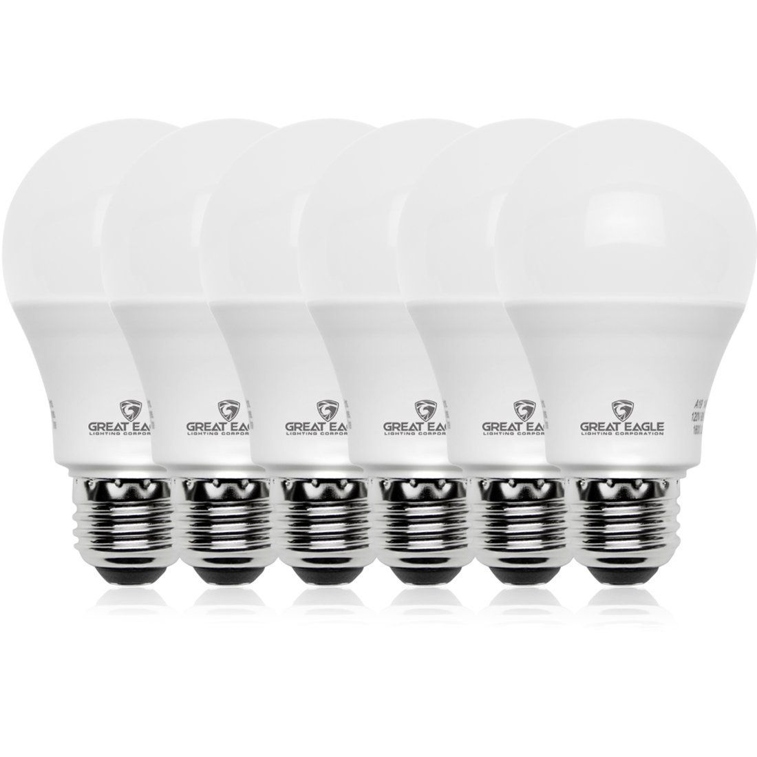 Great Eagle 100w Equivalent Led Light Bulb 1550 Lumens A19 Bright White 3000k Dimmable 14watt Ul Listed 6pack Click Image For Light Bulb Led Light Bulb Bulb