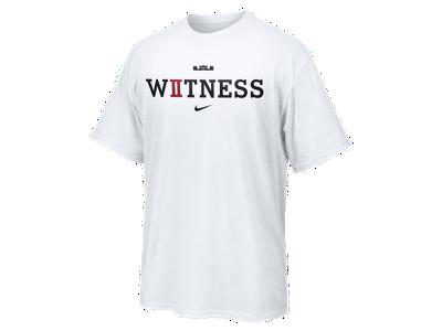 LeBron Witness II (Championship) Men's T-Shirt - $32