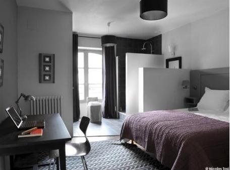 16 d co de chambre grise pour une ambiance zen h o m e couleur chambre chambre - Chambre parentale grise ...