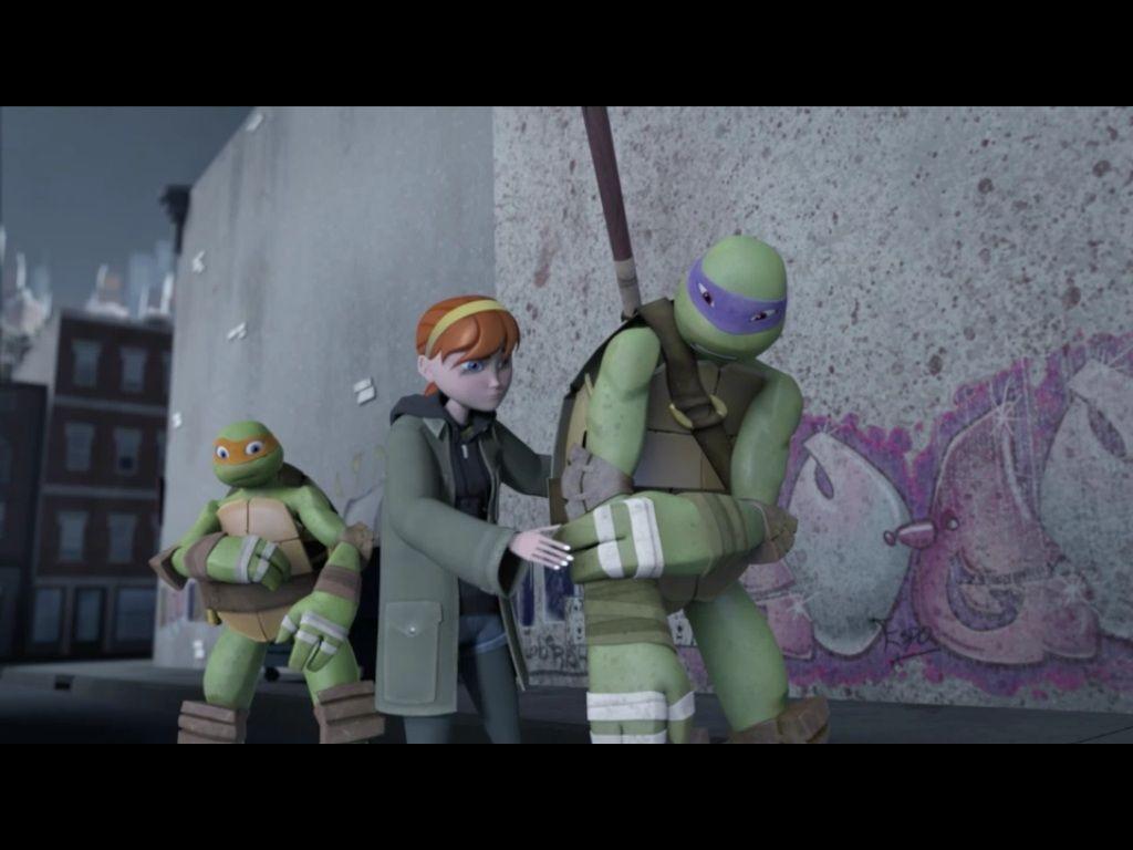 Te Teenage Mutant Ninja Turtles Tv Show - The invasion tmnt