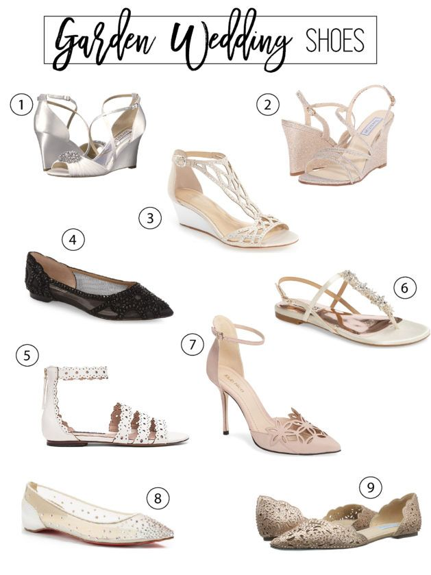 The Dreamiest Garden Wedding Shoes Ever Wedding Shoes Bridal