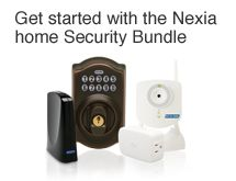 The NexiaTM Security Bundle is a quick, plug and play start to home automation. It has everything you need to keep your home safe and secure while you are away