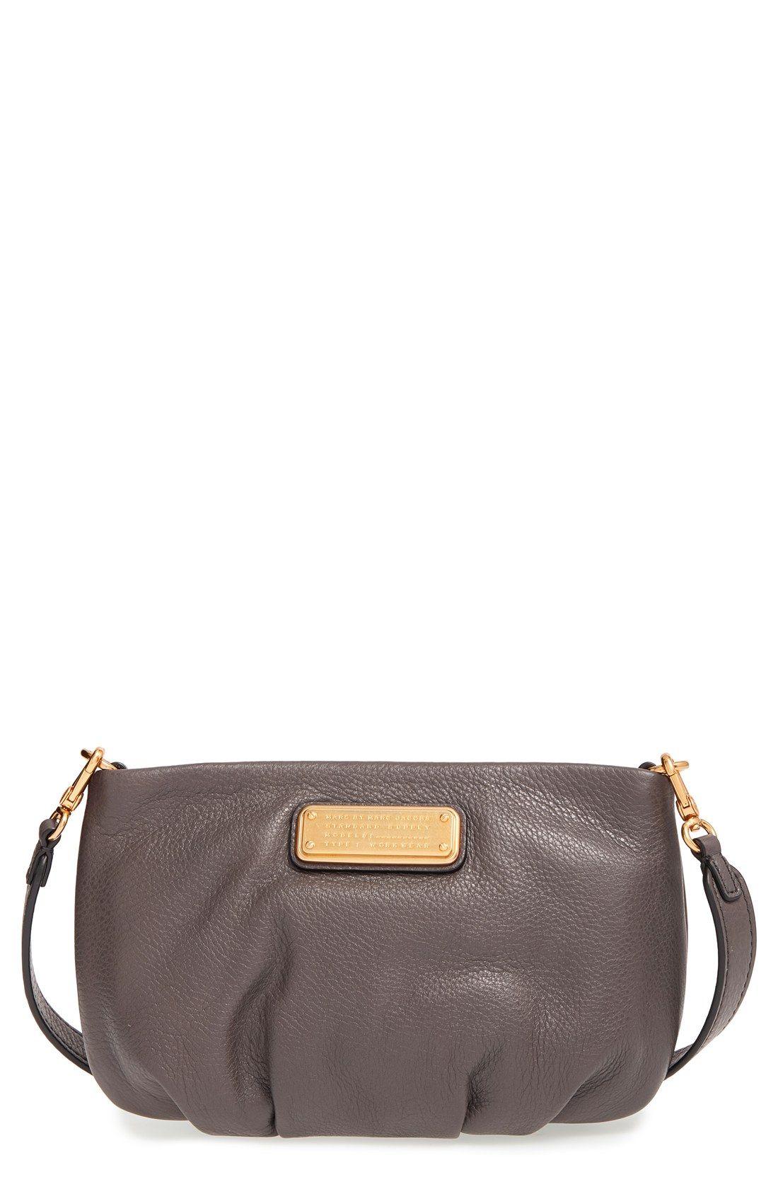 15941da3f4fb MARC BY MARC JACOBS  New Q - Percy  Leather Crossbody Bag