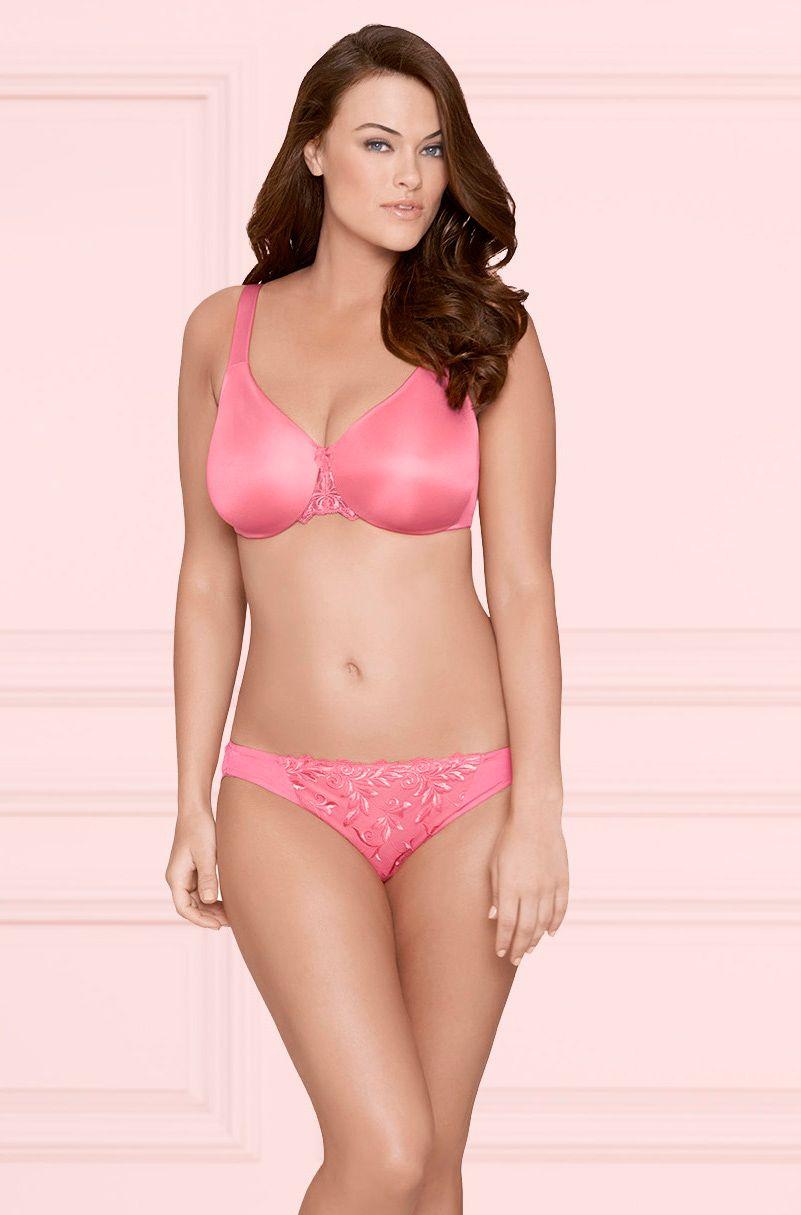318ea721c7 Sensuous Sides 3 inch Minimizer Bra   Sensuous Lace Bikini in Peony   SomaIntimates  LoveSoma