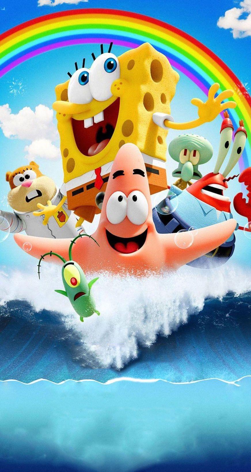 Pin De Seleni Martinez En Spongebob Squarepants Bob Esponja Bob Esponja Personajes Pinturas Disney