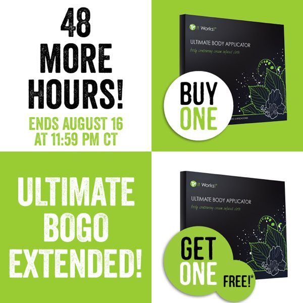 Ultimate Bogo Extended! Buy a box of wraps and get  box free!!!! Tighten Tone…