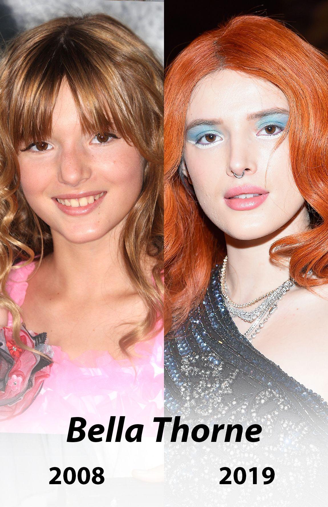 Hier Siehst Du Bella Thorne Fruher Und Heute Foto Getty Images
