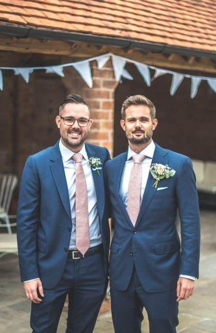 Best Wedding Suits Men Navy Blush Pink Ideas #wedding | Best wedding suits, Wedding suits groom, Wedding suits