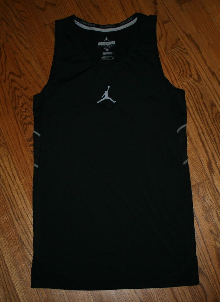 0192aba5 Nike Dri-Fit Air Jordan Training Compression Tank Top Shirt sleeveless Men's  XL #Nike #ShirtsTops