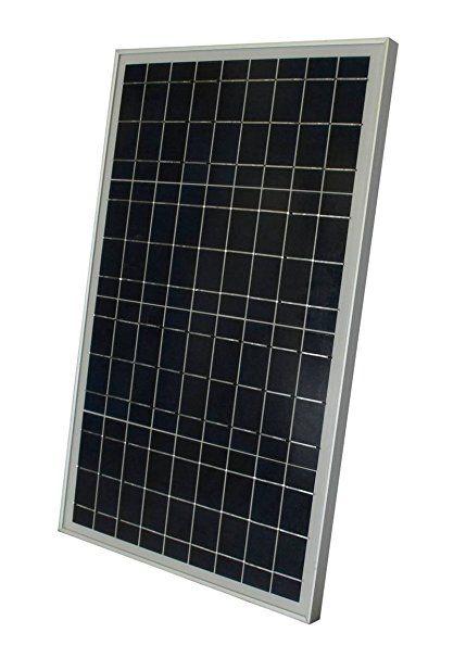 Windynation 30 Watt 30w Polycrystalline 12v 12 Volt Solar Panel Battery Charger Boat Rv Gate Off Grid Solar Panels Best Solar Panels 12 Volt Solar Panels